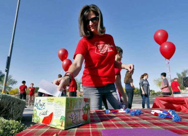 Arizona teachers weigh risks of a strike as they urge change