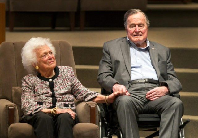 Barbara Bush, George H.W. Bush