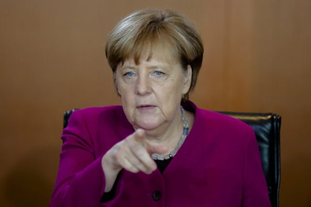 Germany's Merkel condemns attack on 2 Jewish men in Berlin