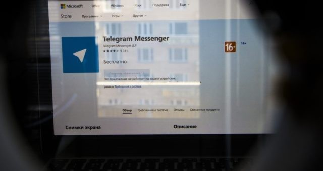 Russia takes heavy hand to internet to block messaging app