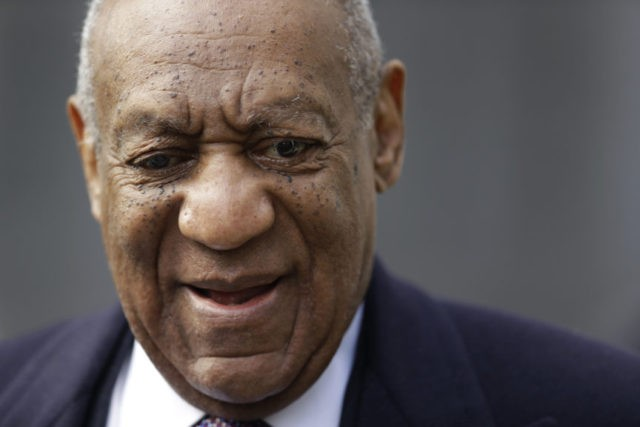 The Latest: Bill Cosby at courthouse for 8th day of retrial