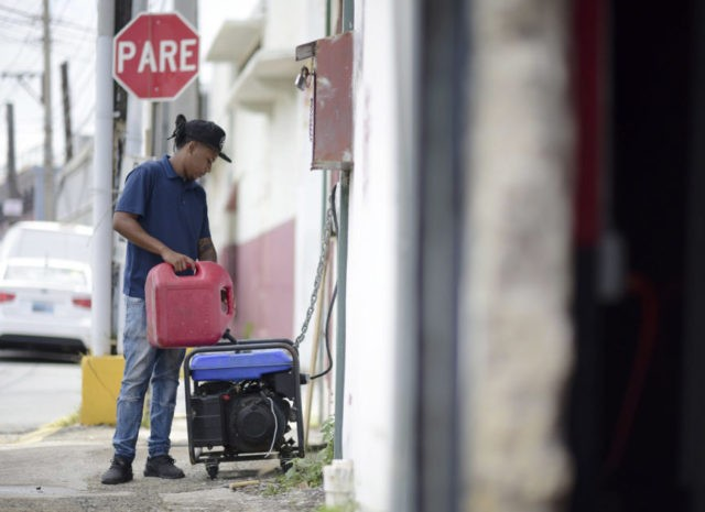 Excavator blamed for island-wide blackout in Puerto Rico
