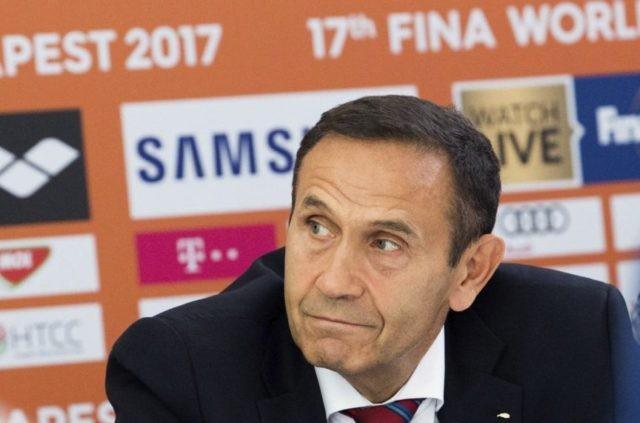 Ex-head of Hungarian swimming denies ordering rival slain
