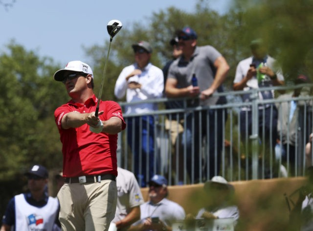 Zach Johnson rolling, shares Texas Open lead with Ryan Moore