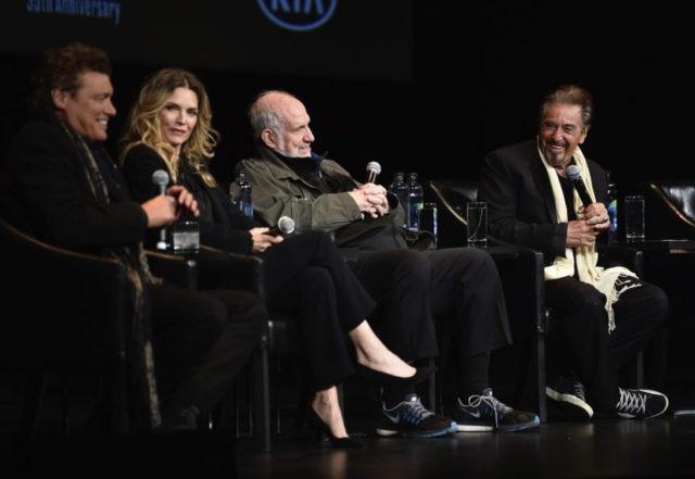 Steven Bauer, Michelle Pfeiffer, Brian De Palma, Al Pacino