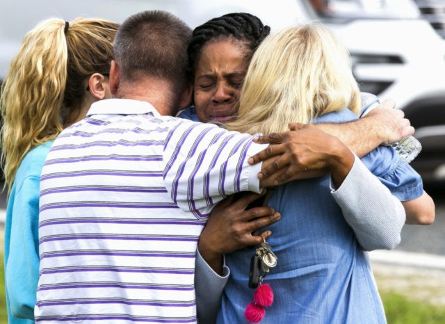 1 shot, wounded at Florida school; suspect in custody