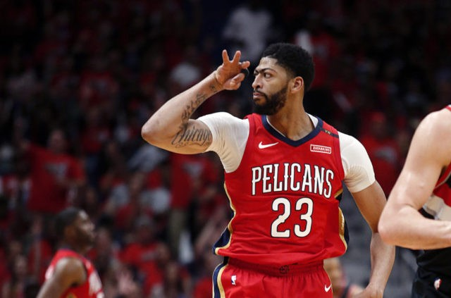 Davis' 47 points leads Pelicans to sweep of Trail Blazers