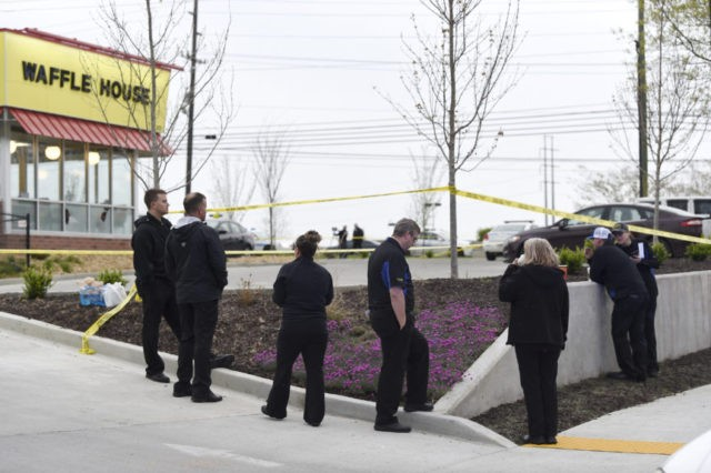 4 dead in Nashville Waffle House shooting; suspect sought