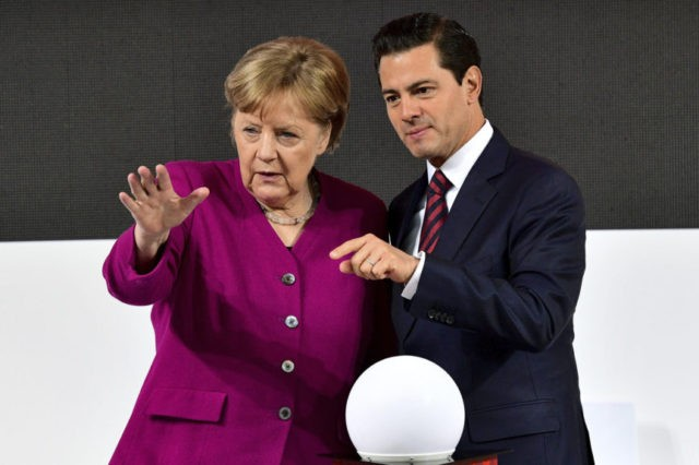 Sweeping EU trade deal with Mexico seen as signal to US