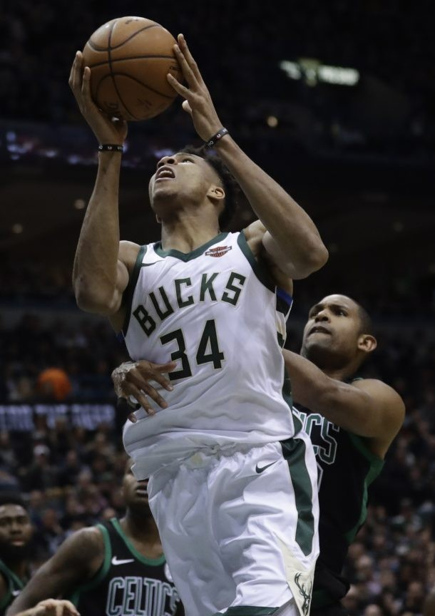 Bucks' Giannis says inability to score lunch not a big deal