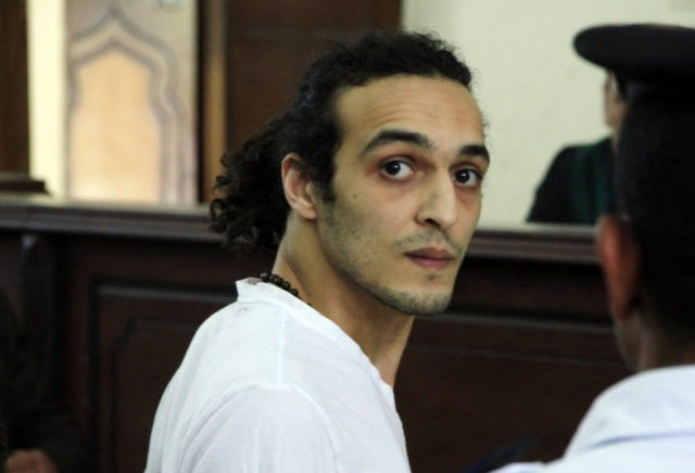Jailed Egyptian photojournalist wins UN press freedom prize