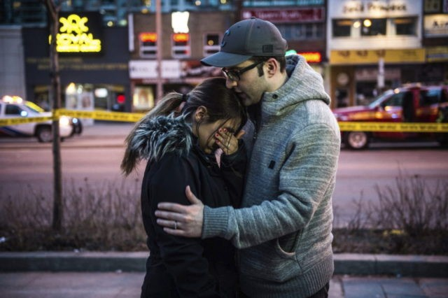 The Latest: Suspected van driver charged in Canada deaths