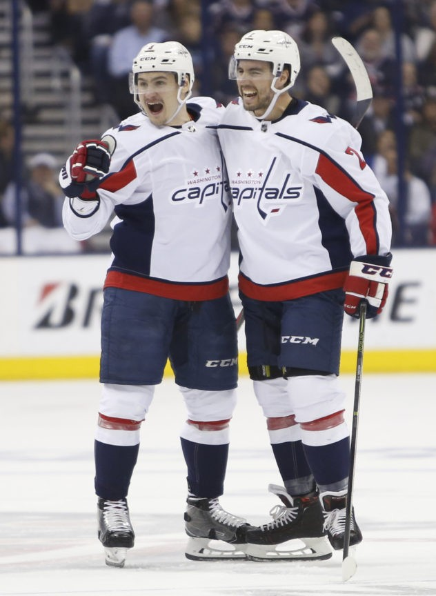 Caps roll over Blue Jackets, look to nemesis Pittsburgh