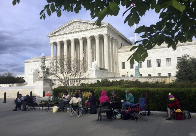 Trump travel ban is focus of Supreme Court's last arguments