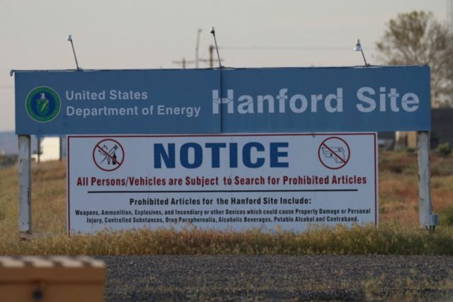 US officials slam Washington state nuke waste site problems