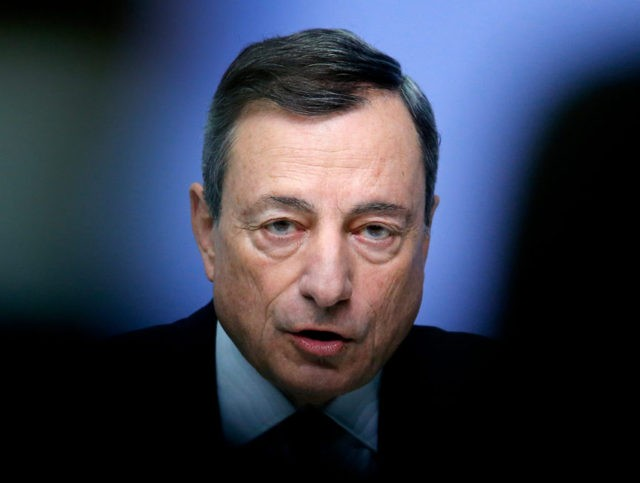European Central Bank head to sift mixed signs on economy