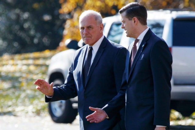 John Kelly, Rob Porter