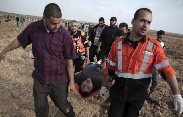Deadly violence erupts again in Gaza at Israeli border fence