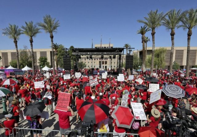'He's not listening': Teachers and Arizona governor at odds