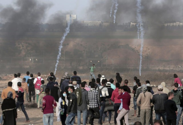 The Latest: Palestinian ambassador challenges Israel on Gaza