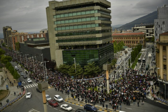 Spain: Gang rape verdicts spur 3rd day of Pamplona protests