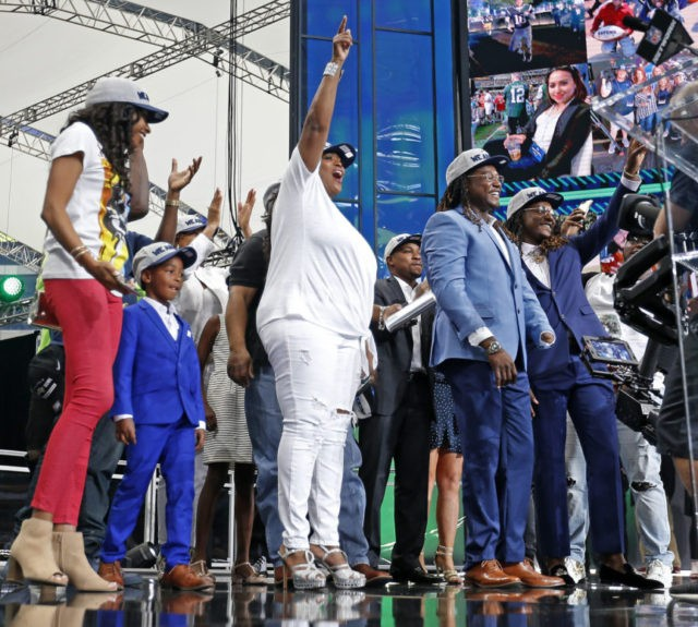 Shaquem Griffin finally hears his name at NFL draft