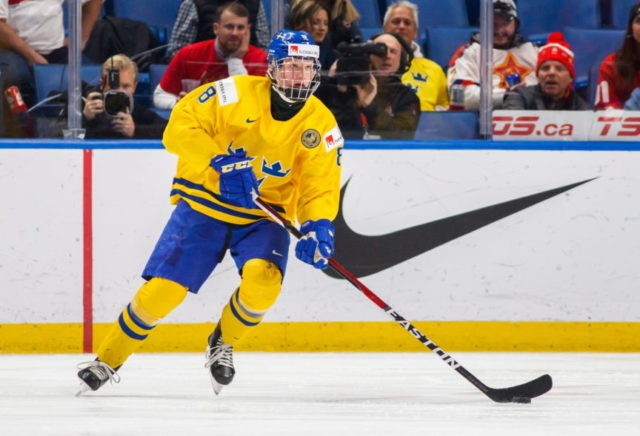 The Latest: Buffalo Sabres win NHL draft lottery