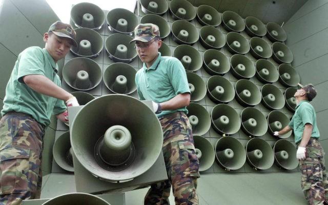 S. Korea to remove propaganda loudspeakers at shared border
