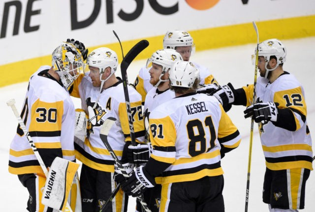 Penguins' Malkin out for Game 2 against Capitals