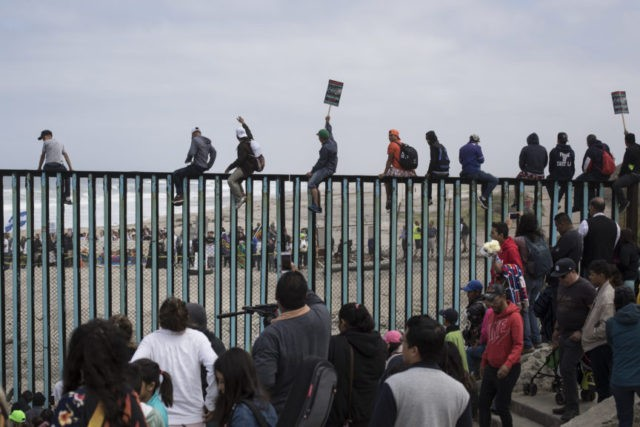The Latest: Central American asylum seeker feels confident