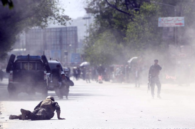 Double Kabul suicide bombings kill 21, including journalists