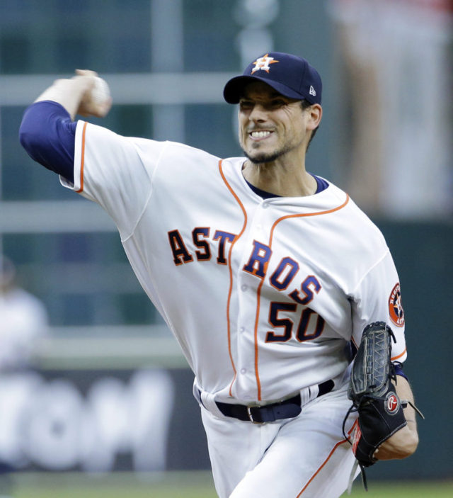 Morton strikes out 10 to help Astros stop Yankees, 2-1
