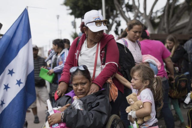 Only 20 asylum seekers a day to cross Tijuana-San Diego border