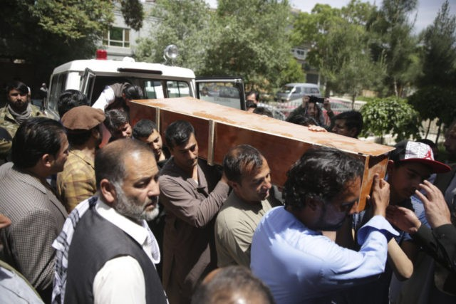 Dark day for reporters as 9 killed in Afghan bombing