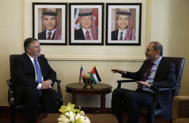 Pompeo says Israel, Palestinian peace still a US priority