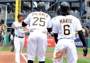 Pirates' Moran hits grand slam in first at-bat at PNC Park