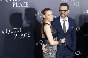 Blake Lively, Ryan Reynolds support Emily Blunt, John Krasinski at premiere