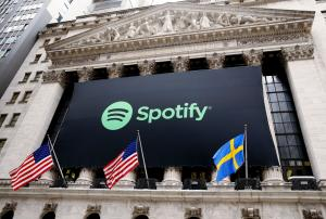 Spotify makes IPO at $132 a share, for value of $23.5B