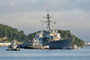 Huntington Ingalls awarded $57M for repairs on USS Fitzgerald