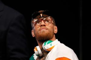 Conor McGregor in NYPD custody, charged with assault
