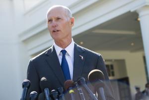 Florida Gov. Rick Scott officially kicks off Senate run