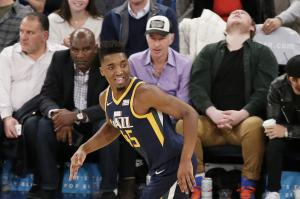 Donovan Mitchell throws shade on Ben Simmons in Rookie of the Year race