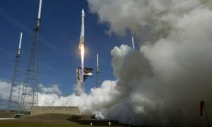 ULA Atlas V rocket launched payloads for U.S. Air Force