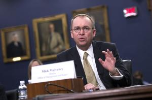 Mulvaney: OMB to probe EPA spending