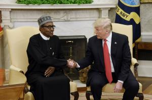 Watch live: Trump, Buhari hold joint news conference