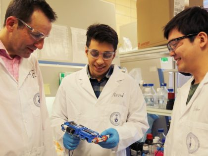 University of Toronto researchers have created a 3D skin printer to help wounds heal