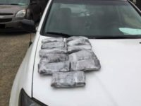 Drugs found by California National Guardsman during inspection at Border Patrol impound lot. (Photo: U.S. Customs and Border Protection)