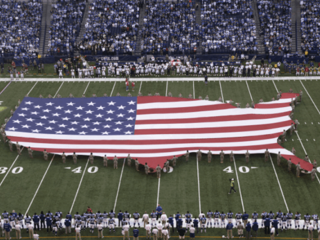 Flag on the field