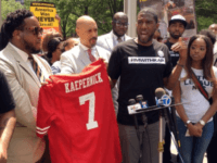 Al Sharpton's National Action Network Leads Protest Outside NFL HQ After Kneeling Ban