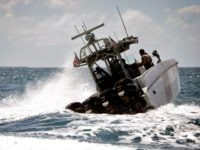 Border Patrol Boat off the coast of Puerto Rico. (AP File Photo/Ricardo Arduengo)
